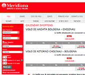 screenshot di Meridiana