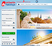 Sito web di Air Berlin