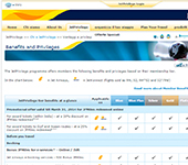 Sito web di Jet Airways