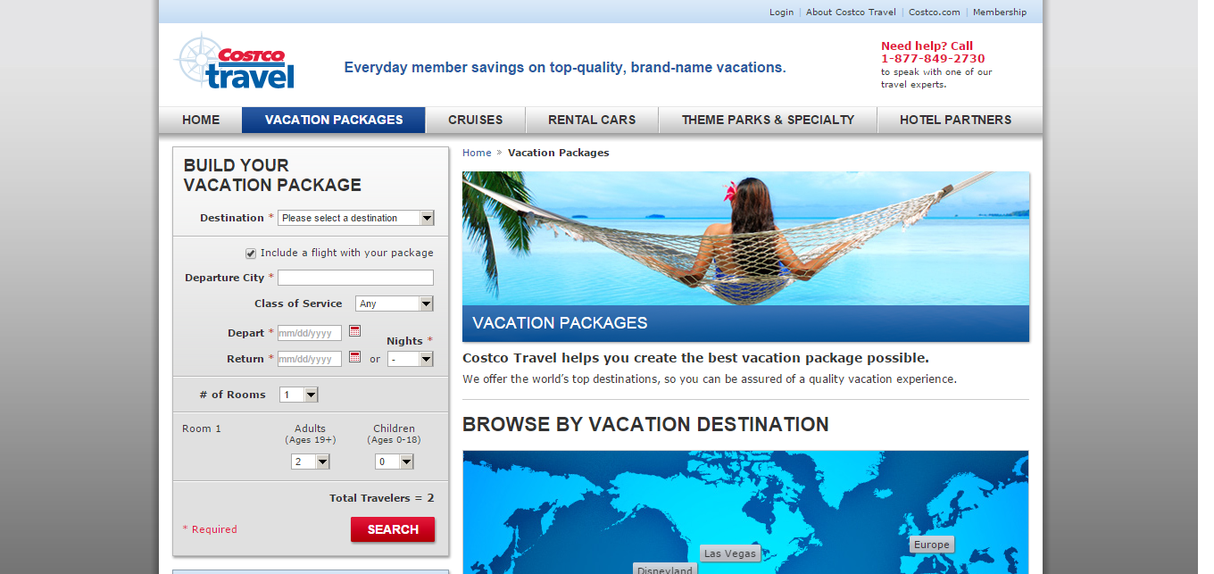 Costco Travel Compare Vacation Websites And See Reviews Minubenet - Costoc travel