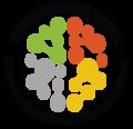 Entrepreneur social logo round