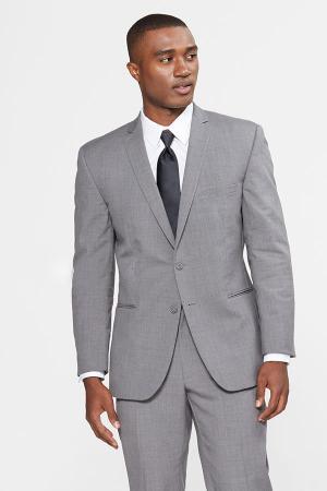 Grey 3 Piece Suit | Medium Grey Suit | Custom Suit Rentals