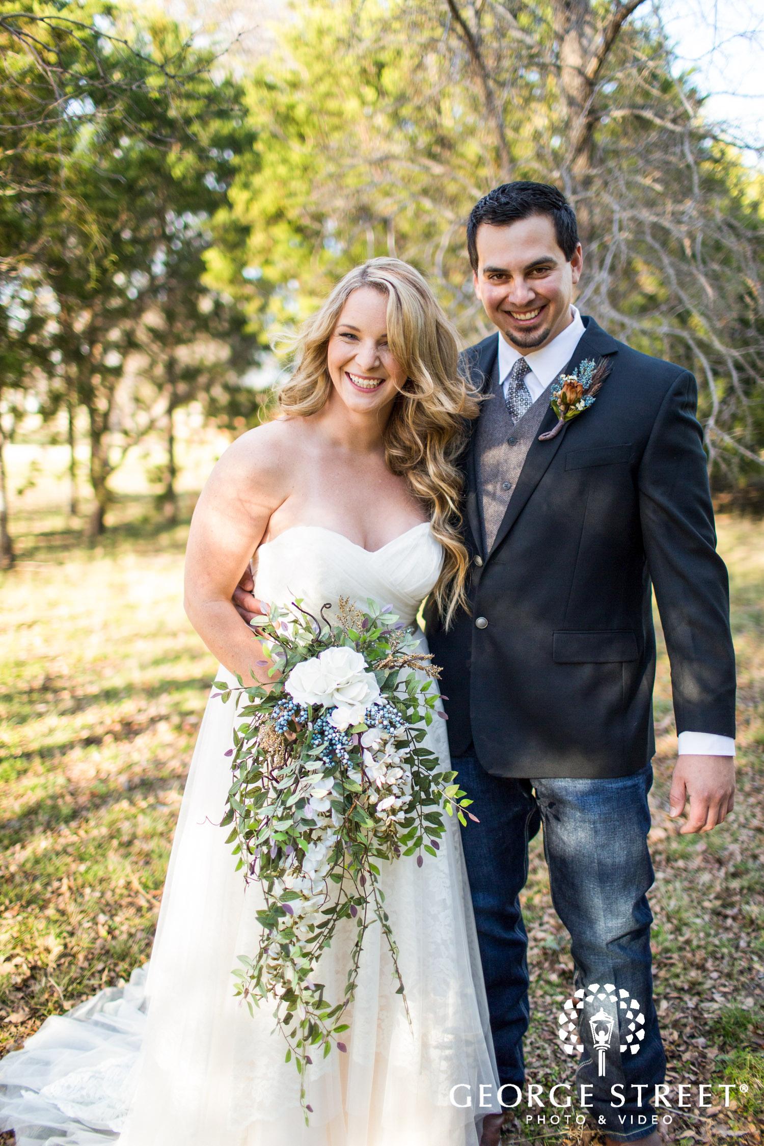 Texas Southern rustic boho wedding