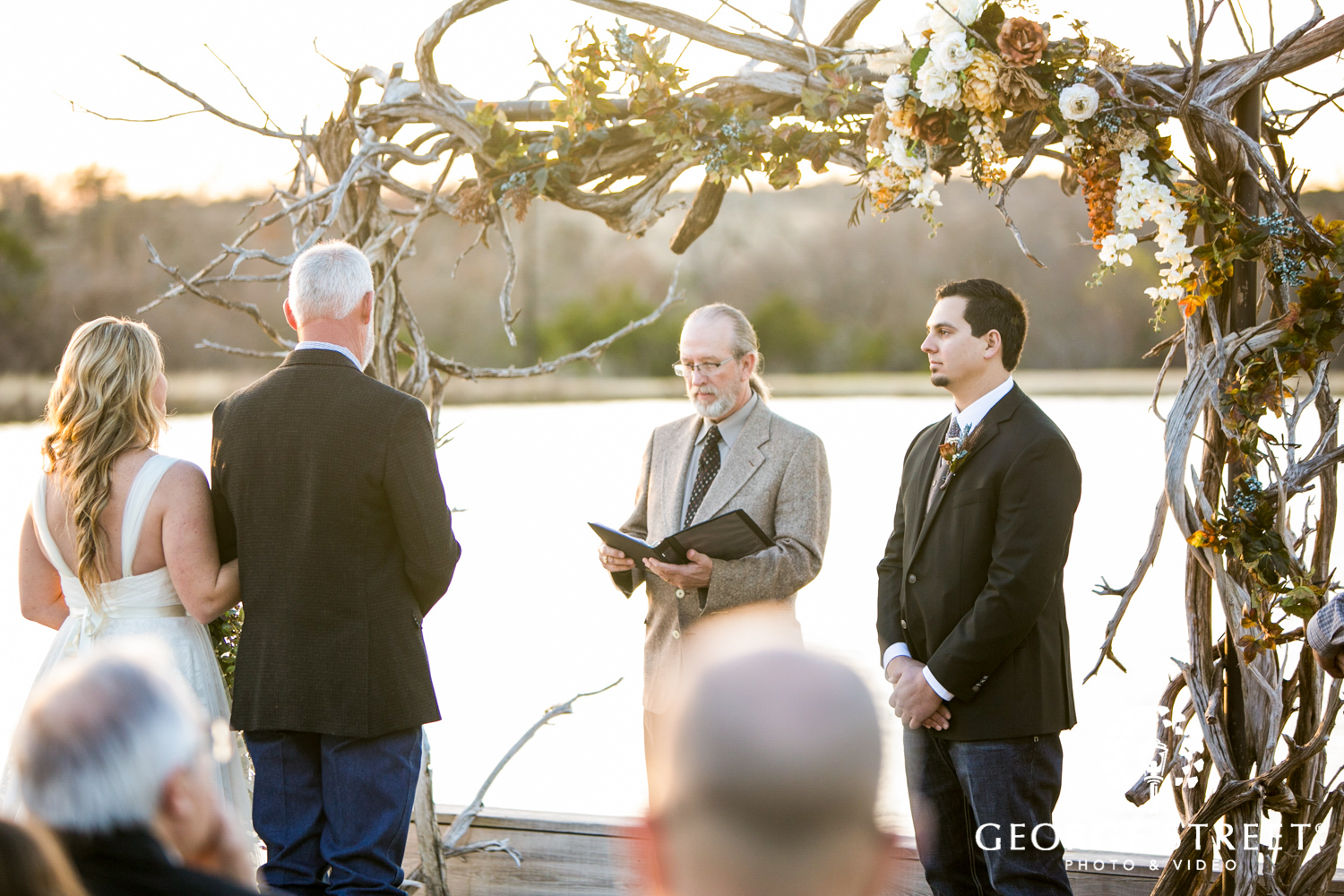 Thistle Springs Ranch wedding ceremony