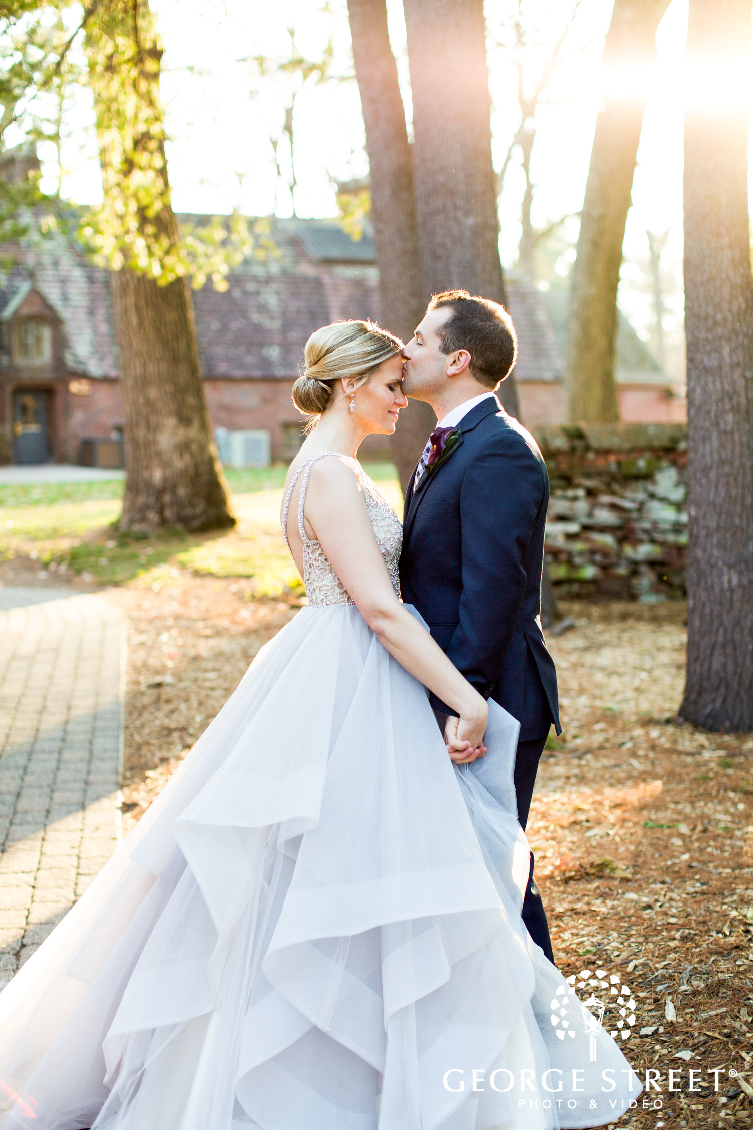 Hayley Paige wedding gown beautiful wedding portrait