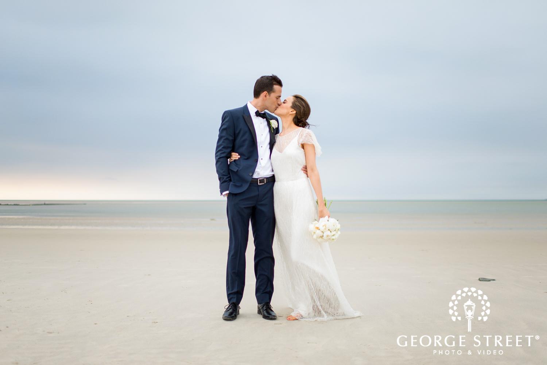 gorgeous beach wedding photos