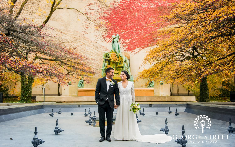 Chicago fall wedding photography