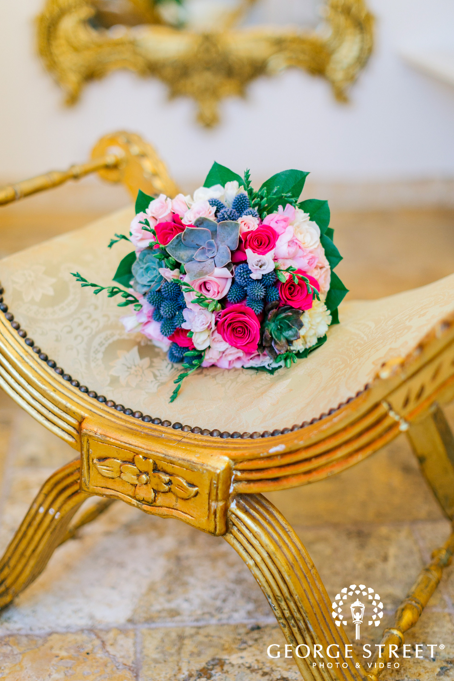 romantic bridal wedding bouquet