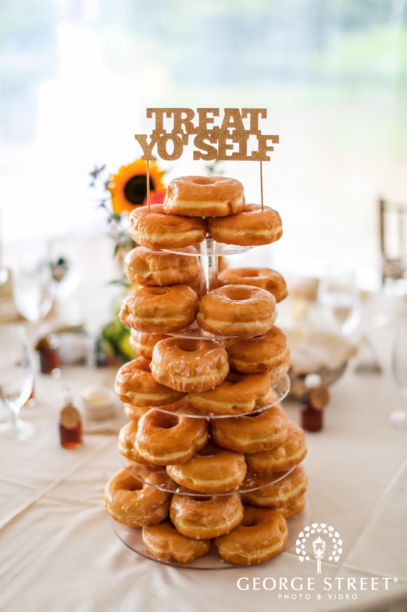 wedding dessert alternative donuts