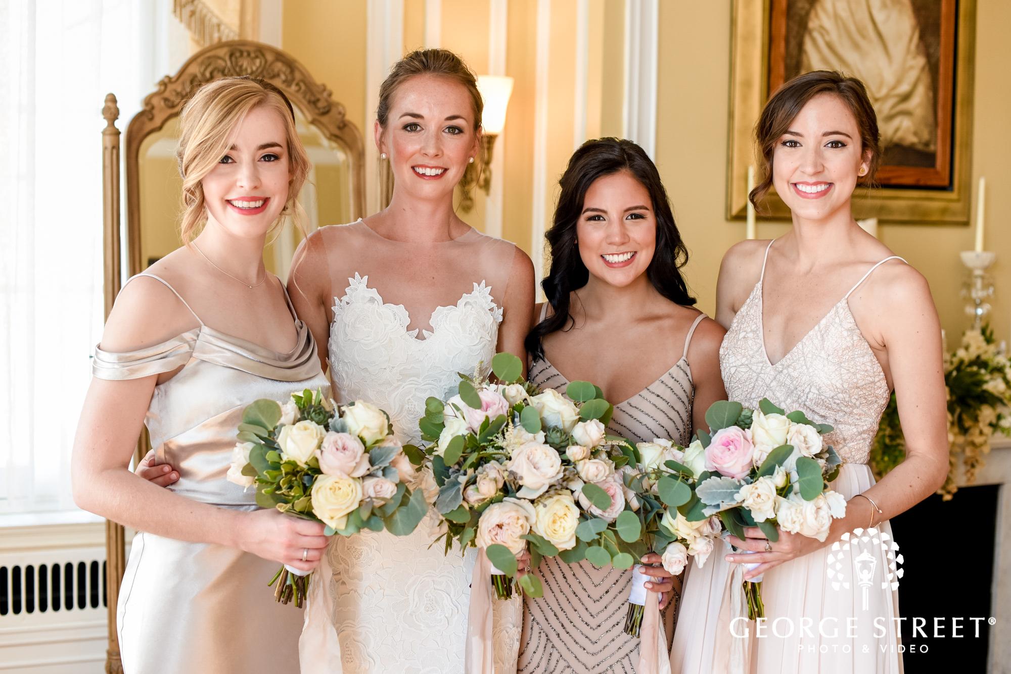 mismatched bridesmaid dress inspiration