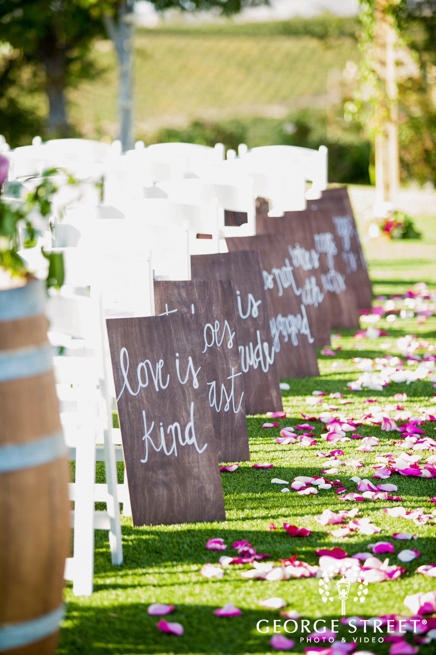 wedding ceremony decor inspiration