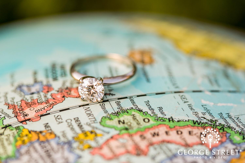wedding ring photo traveling couple