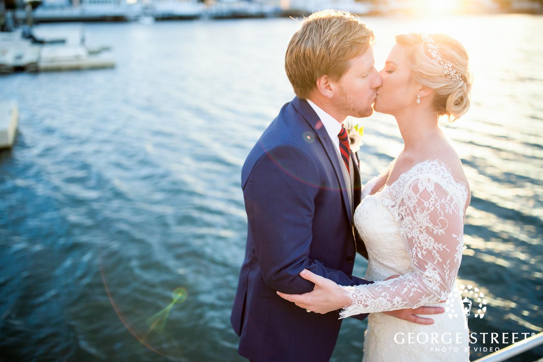 candid beach wedding photos