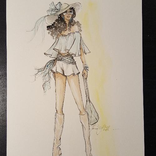 330tix Fine Art Friday Fashion Drawing Night