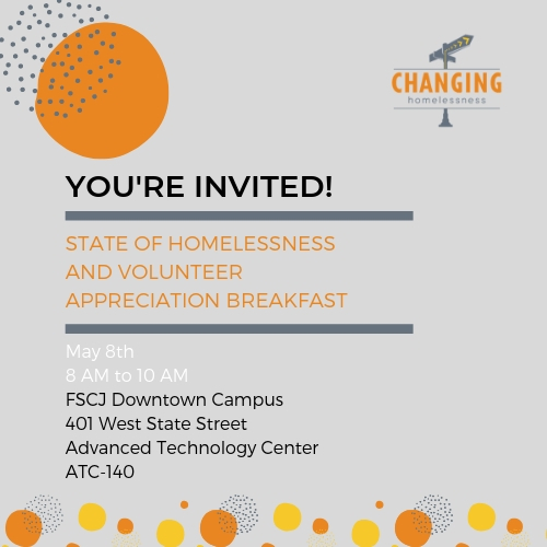 904TIX | State of Homelessness and Volunteer Appreciation Breakfast