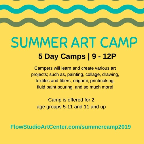 904tix 2019 Kids Summer Art Camp W Sunni Jul 15 Jul 19 Age 5 11
