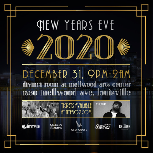 Louisville Events 2020.Red Pin Tix Nye 2020 With Tony The Tan Lines Dj K Dogg