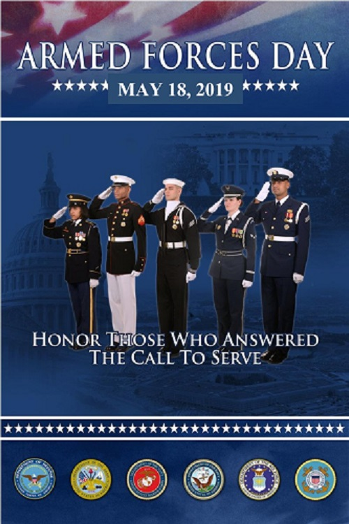 new arrival 6aba5 bf181 2019 ARMED FORCES DAY CELEBRATION. May 18 ...