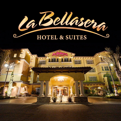 geo.to easy. fast. accurate. La Bellasera Hotel & Suites locations by you business logo