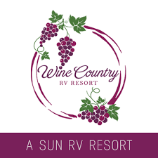 geo.to easy. fast. accurate. Wine Country RV Resort locations by you business logo