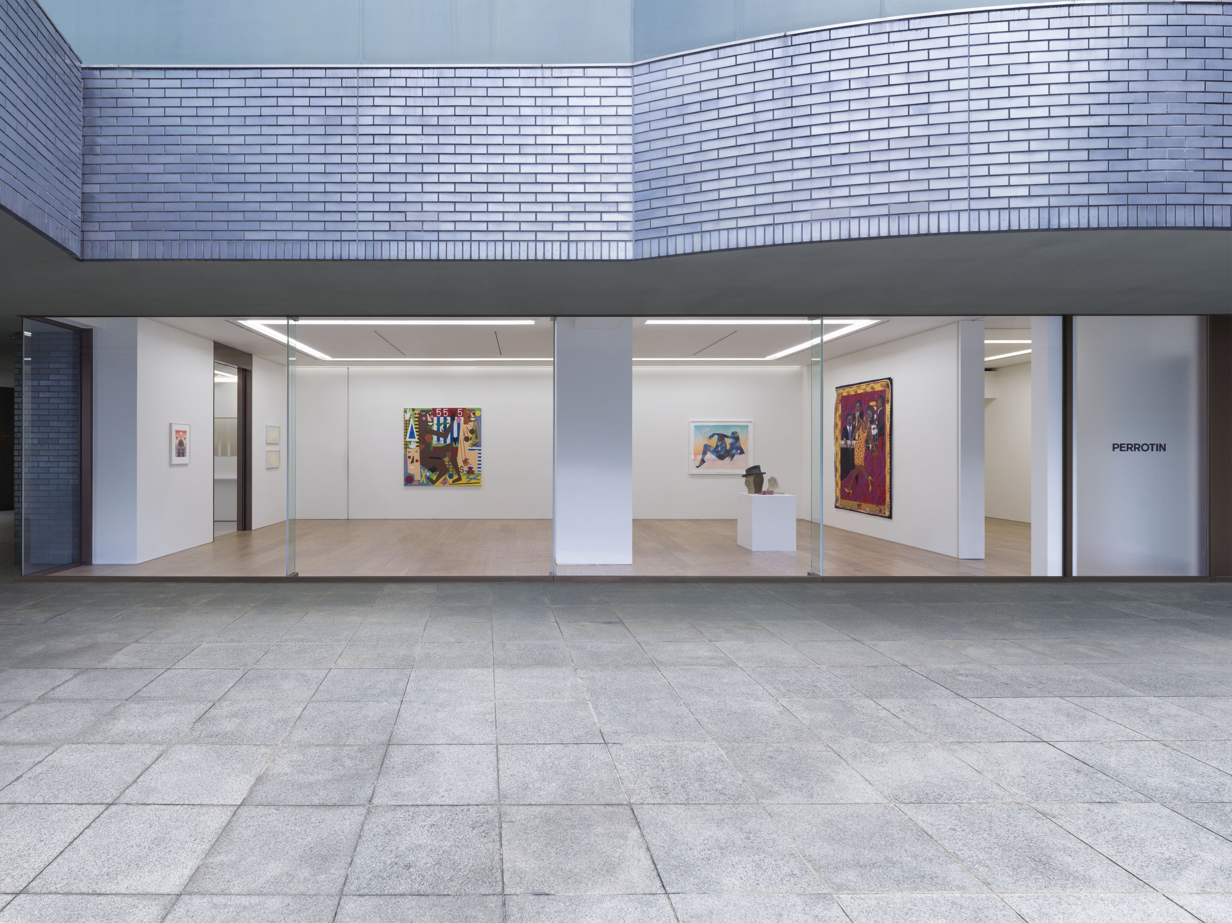 View of the exhibition, Bitter Nest, Perrotin, Tokyo, Japan