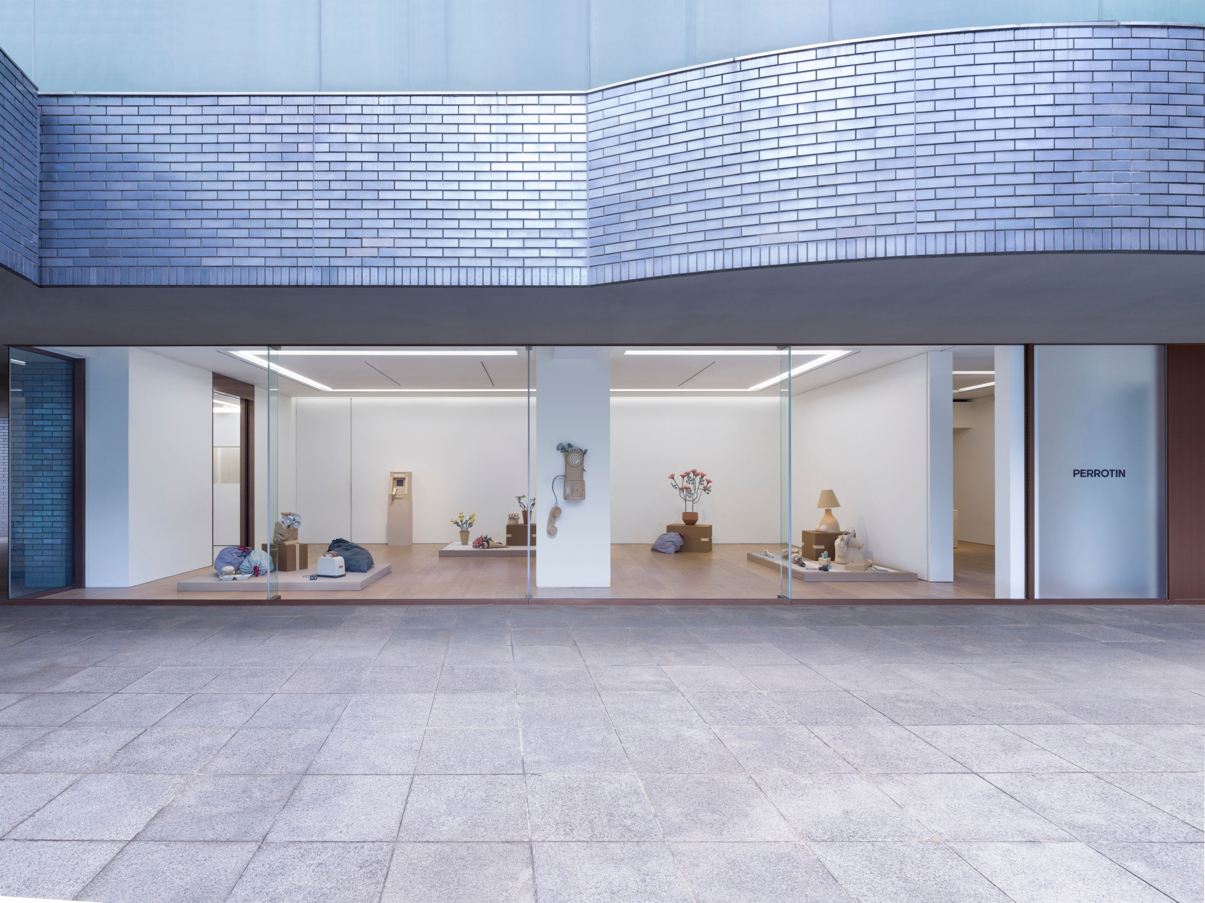 """View of the exhibition Genesis Belanger """"Another Man's Treasure"""" at Perrotin Tokyo. Photo by Kai Okano. Courtesy of the artist and Perrotin."""