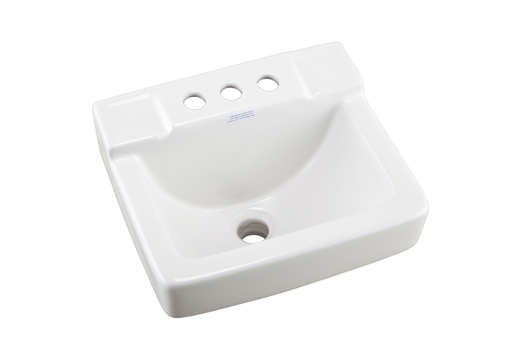 West Point Space Saving 4 Quot Centers Wall Hung Bathroom Sink