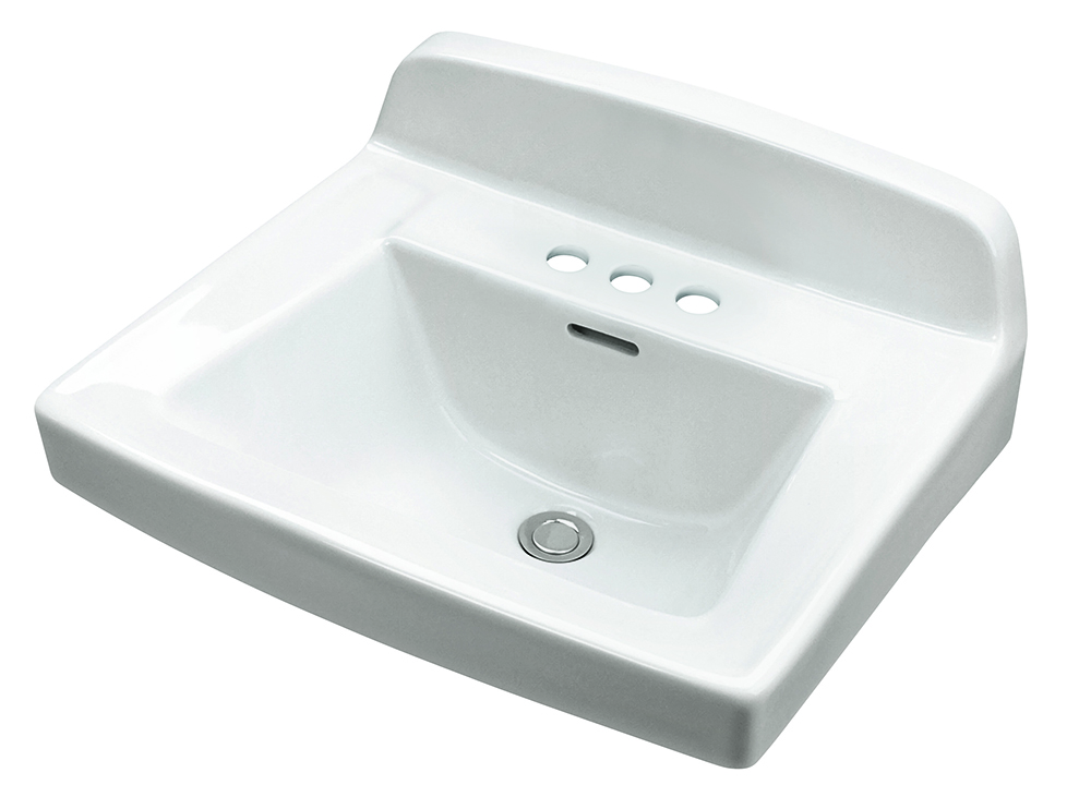 MonticelloTM II 4 Centers Wall Hung Bathroom Sink