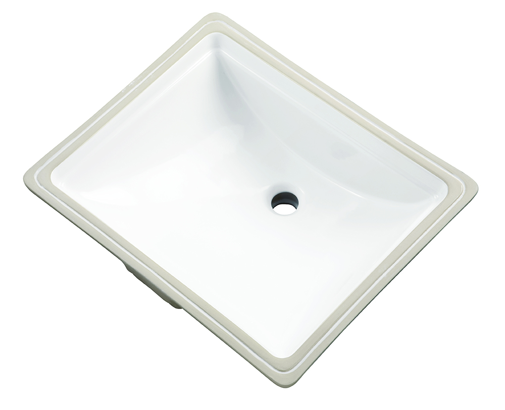 Logan Square™ Rectangular Standard Undercounter Bathroom Sink | Gerber  Plumbing
