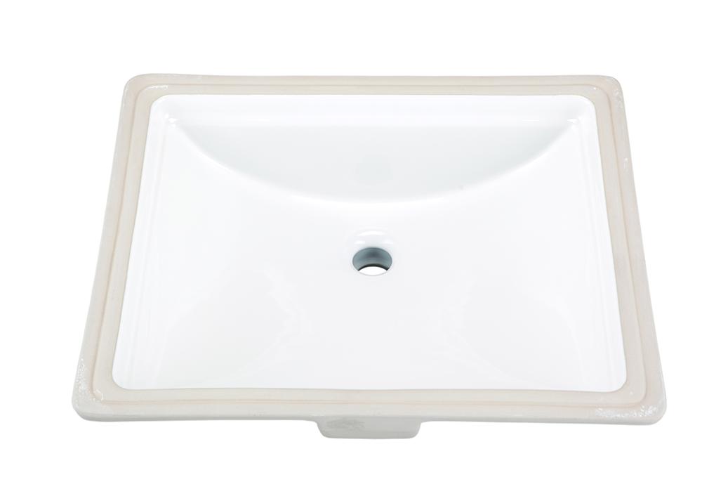 Logan Square™ Rectangular Standard Undercounter Bathroom Sink ...