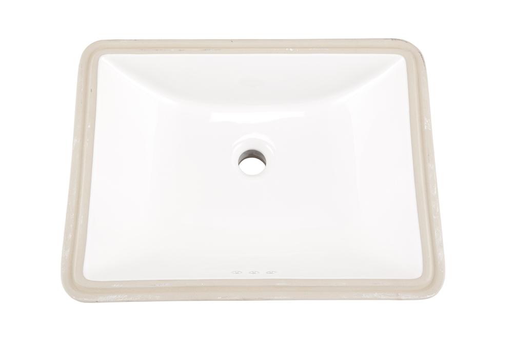 Logan Square™ Rectangular Petite Undercounter Bathroom Sink | Gerber ...