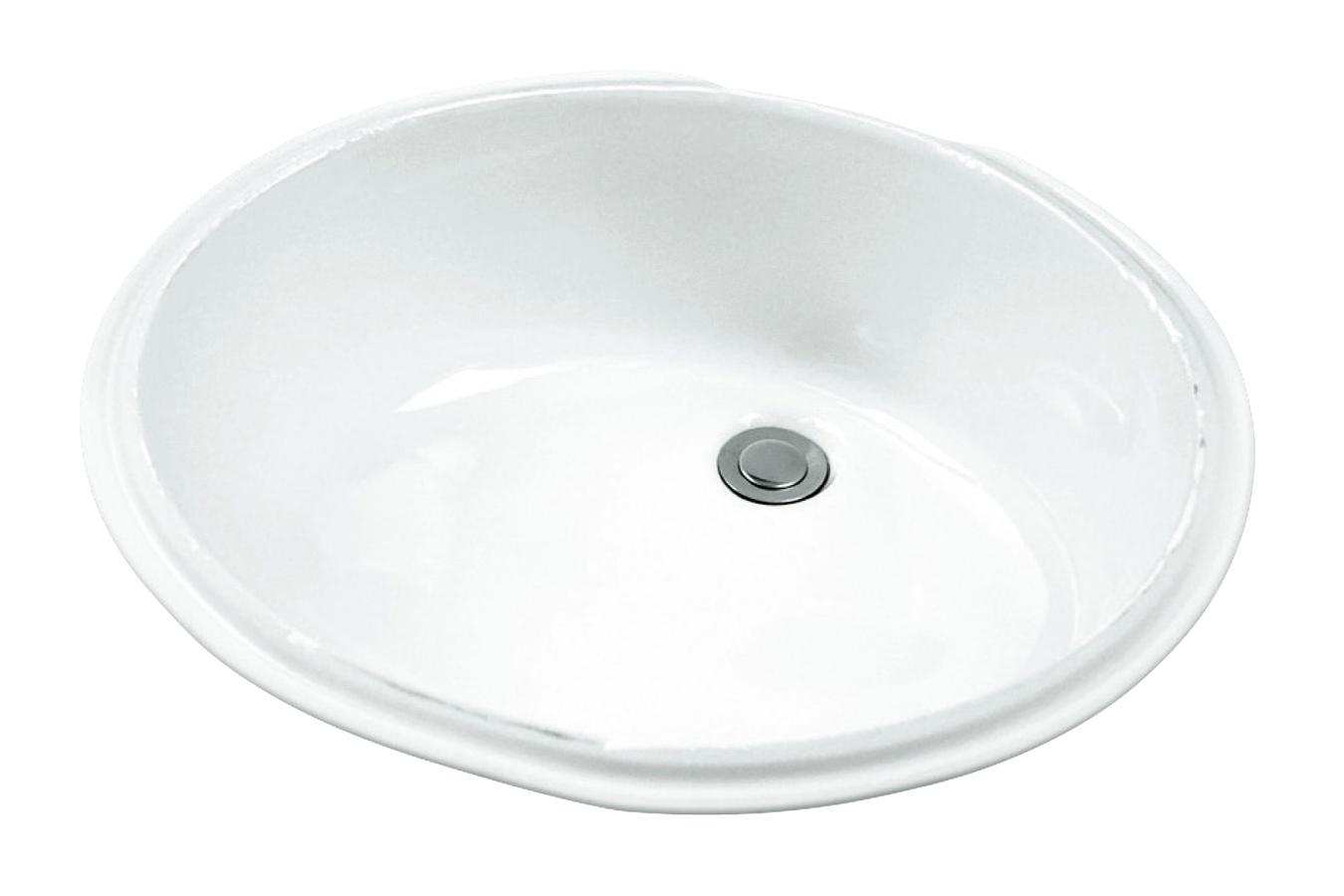 Luxoval™ Oval Standard Undercounter Bathroom Sink | Gerber Plumbing