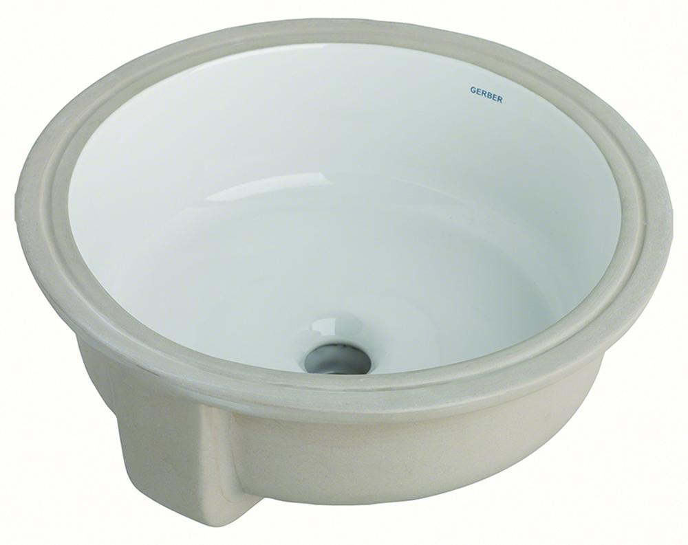 Luxoval™ Round Undercounter Bathroom Sink | Gerber Plumbing