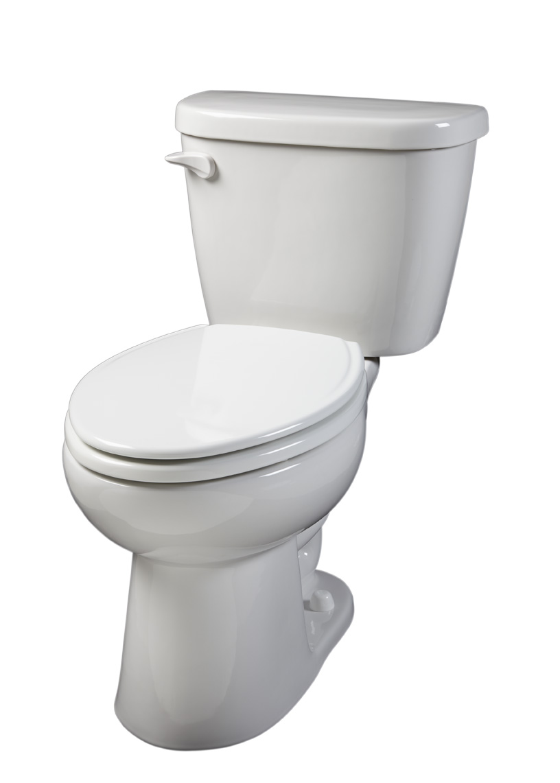 maxwell 1 28 gpf 14 rough in two piece elongated toilet gerber
