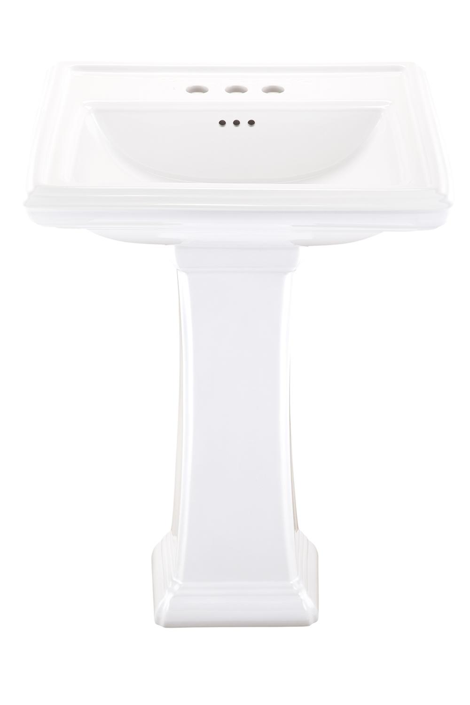 Logan Square 4 Quot Centers Standard Pedestal Bathroom Sink