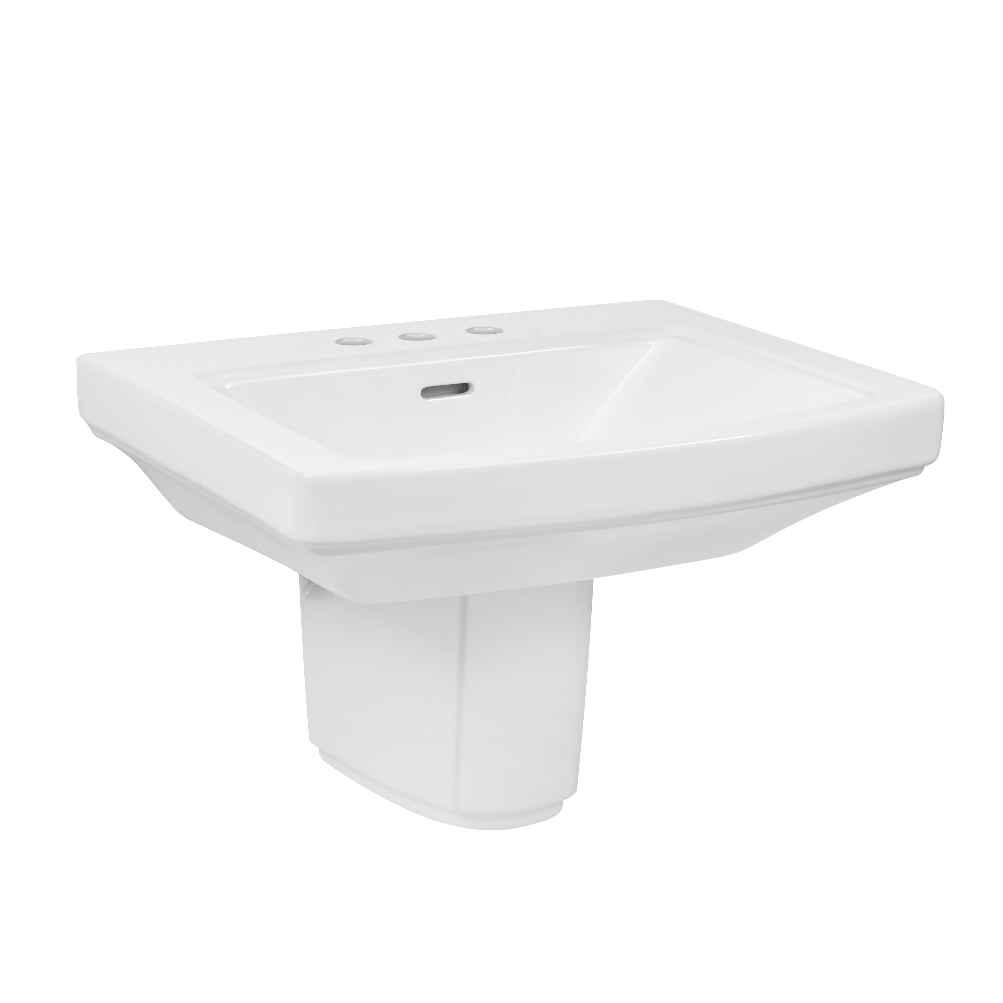 Standard bathroom sink - Hinsdale 4 Centers Standard Bathroom Sink With Shroud Gerber Plumbing