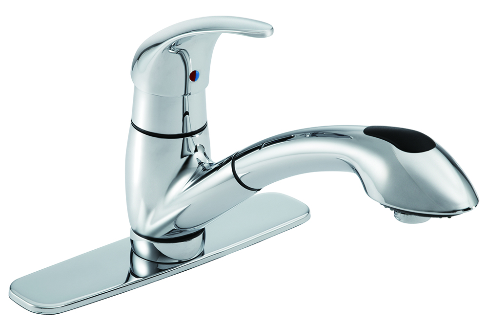 viper single handle pull out kitchen faucet gerber plumbing