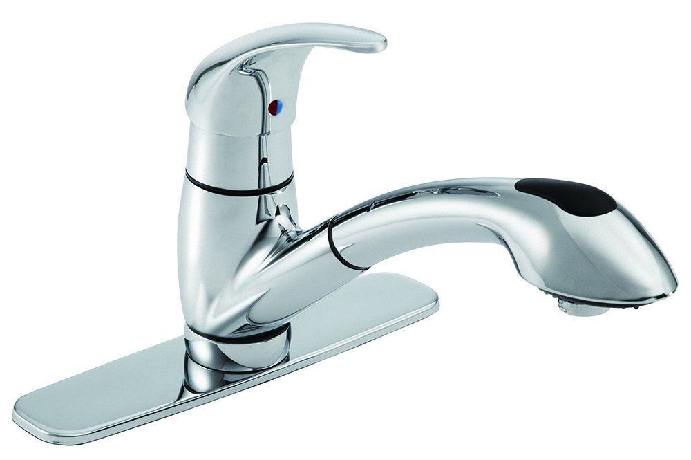 Viper® Single Handle Pull-Out Kitchen Faucet | Gerber Plumbing
