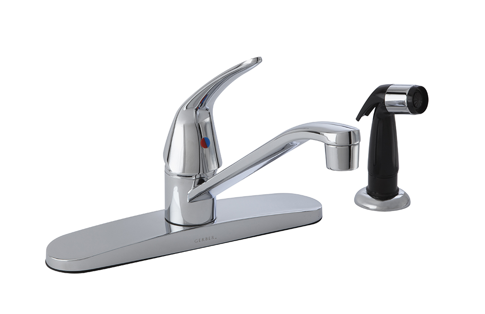 Maxwell 174 Single Handle Kitchen Faucet W Spray 1 75gpm
