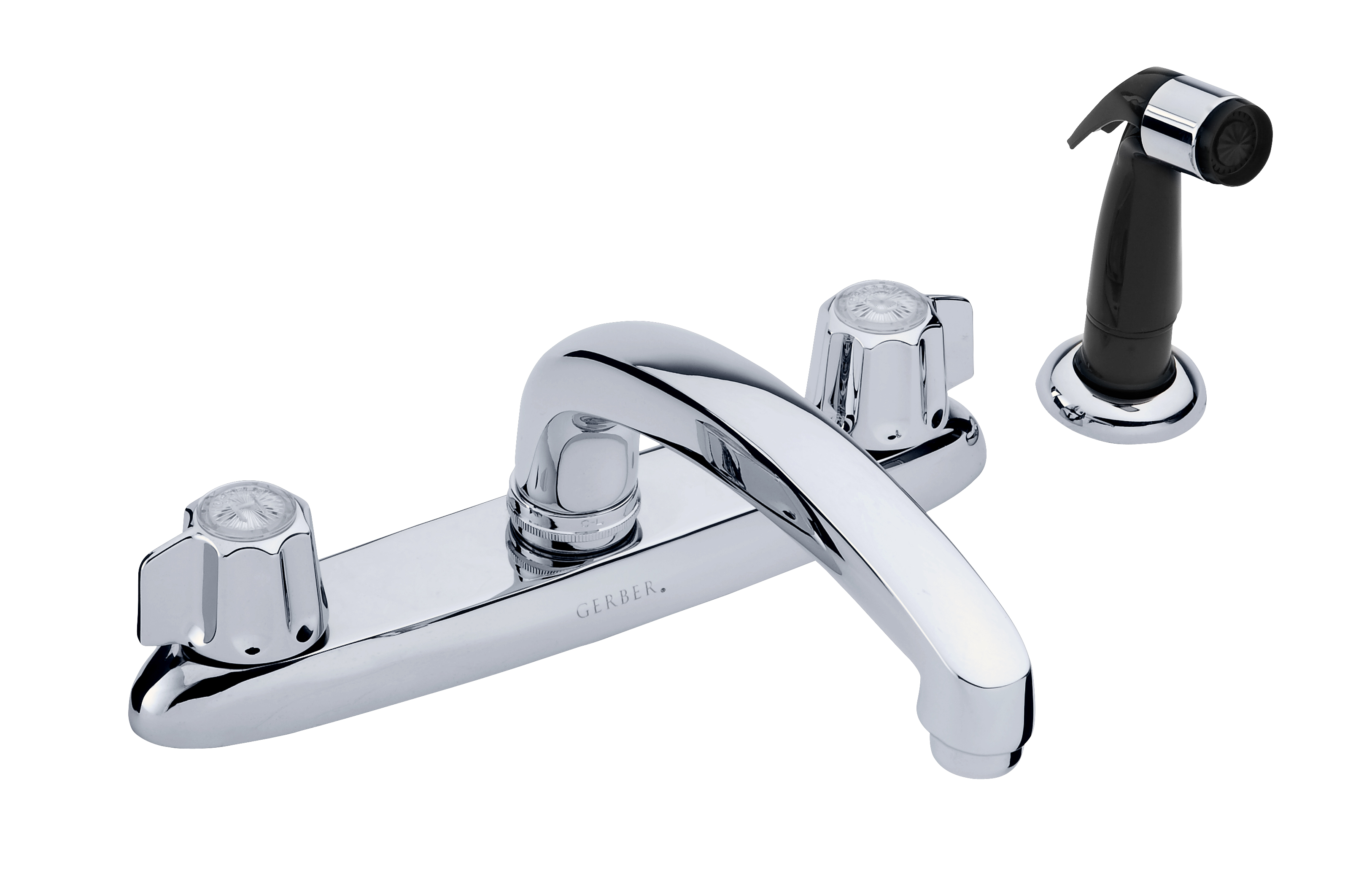 gerber classics two handle kitchen faucet with spray gerber gerber classics two handle kitchen faucet with spray gerber plumbing