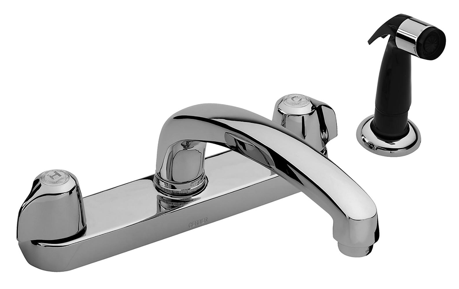 Gerber Classics Two Handle Kitchen Faucet Deck Plate