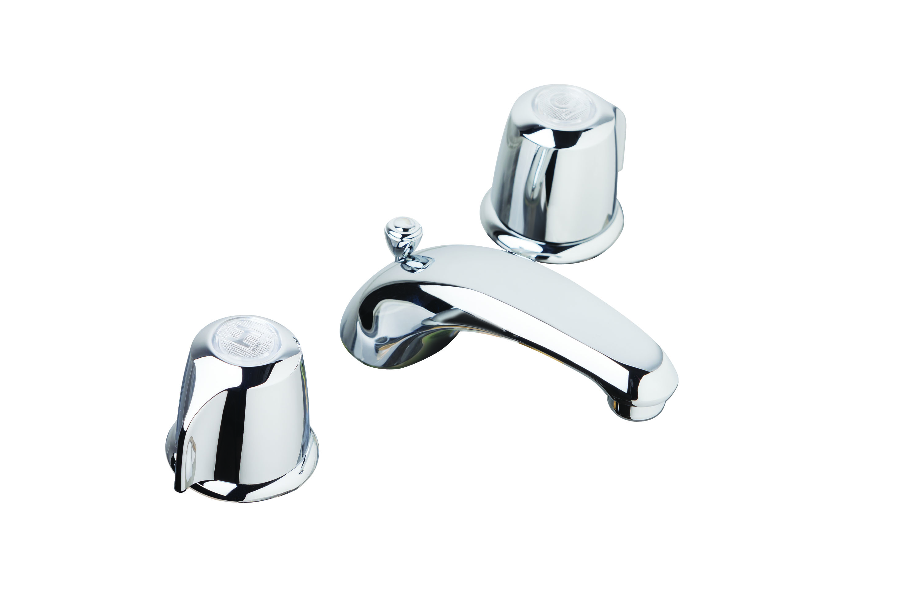 assembly faucet double devonshire standard widespread drain with bathroom pin handle