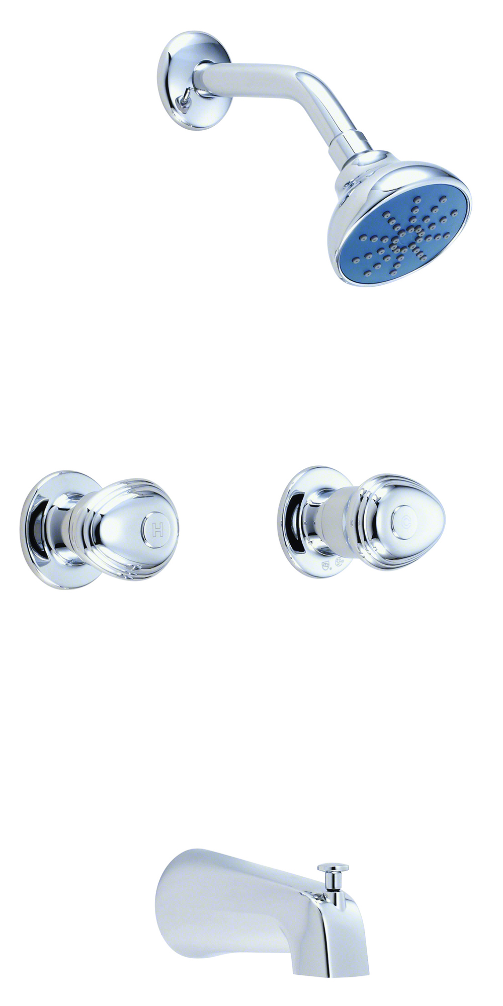 Gerber 174 Hardwater Two Handle Tub Amp Shower Fitting