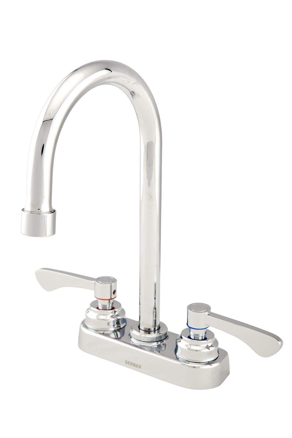 DISCONTINUED Commercial Two Handle 3 Hole Installation Lavatory ...