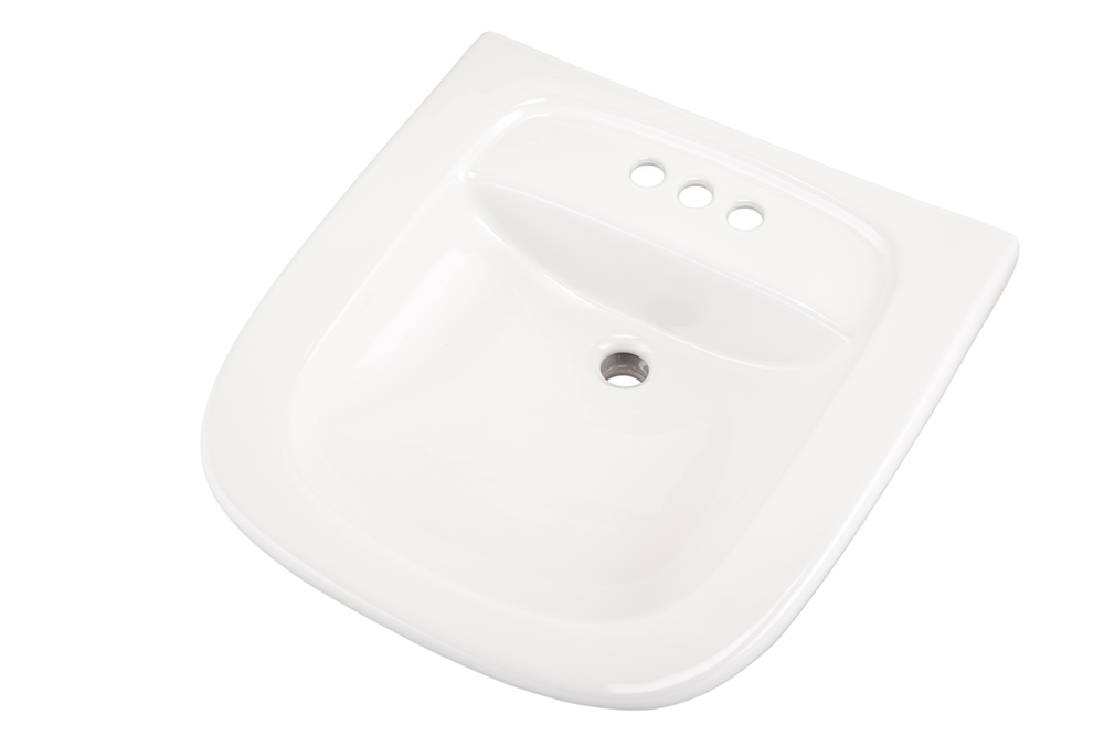 North Point 4 Quot Centers Wall Hung Commercial Hygenic Basin