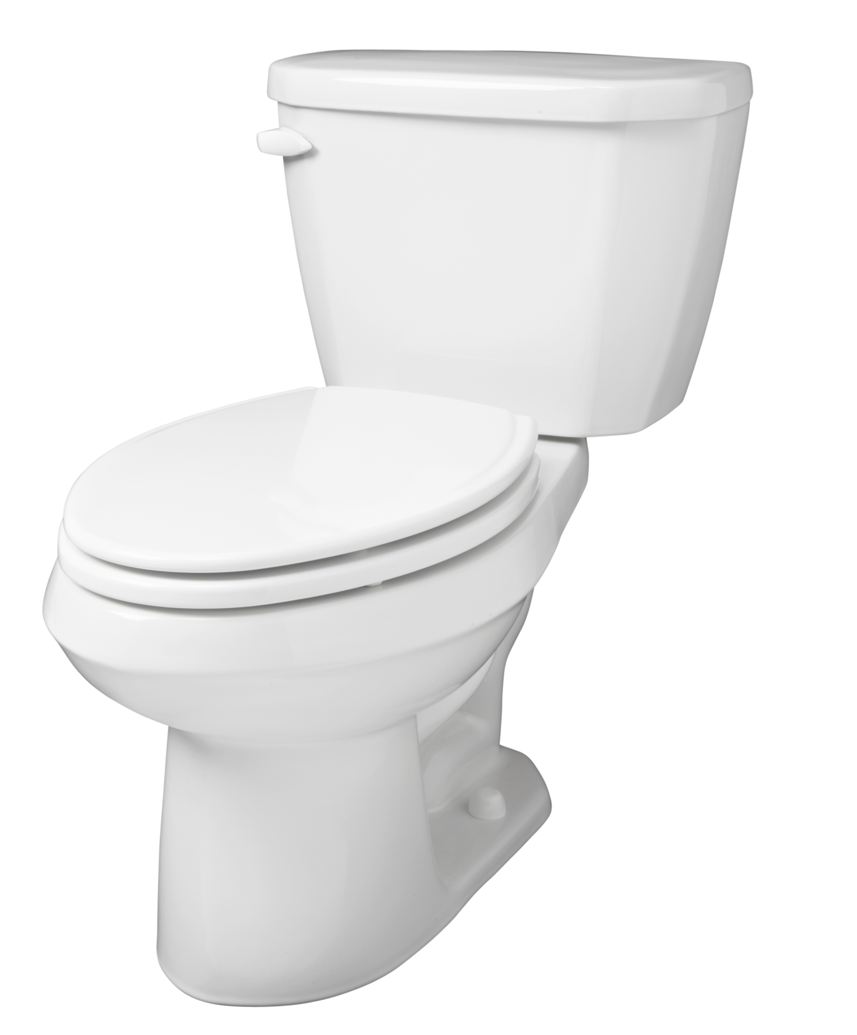 Viper 1 6 gpf 14 rough in two piece elongated toilet for Gerbiere toit
