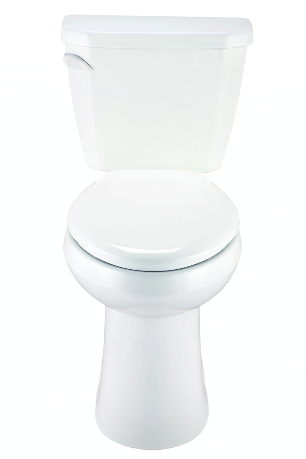 10 inch rough in toilet - Viper 1 6 Gpf 10 Rough In Two Piece Elongated Ergoheight Toilet Gerber Plumbing
