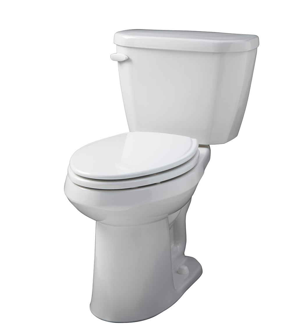 Viper 16 Gpf 14 Rough In Two Piece Elongated Ergoheight Toilet
