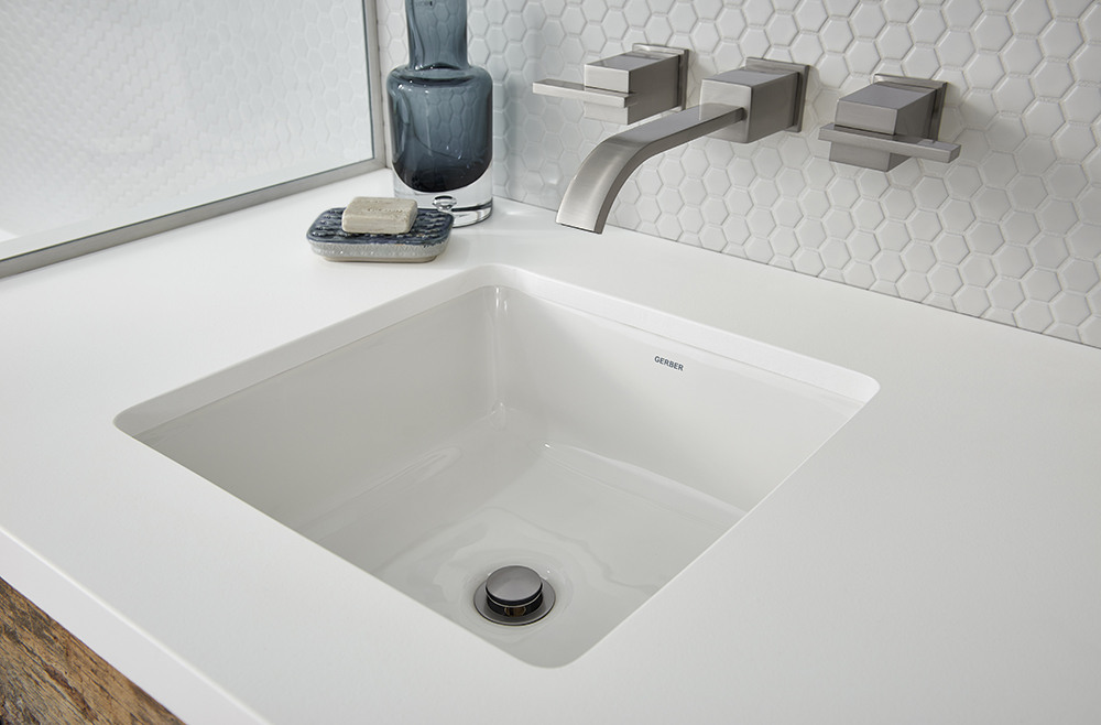 Wicker Park Square Undercounter Bathroom Sink Gerber