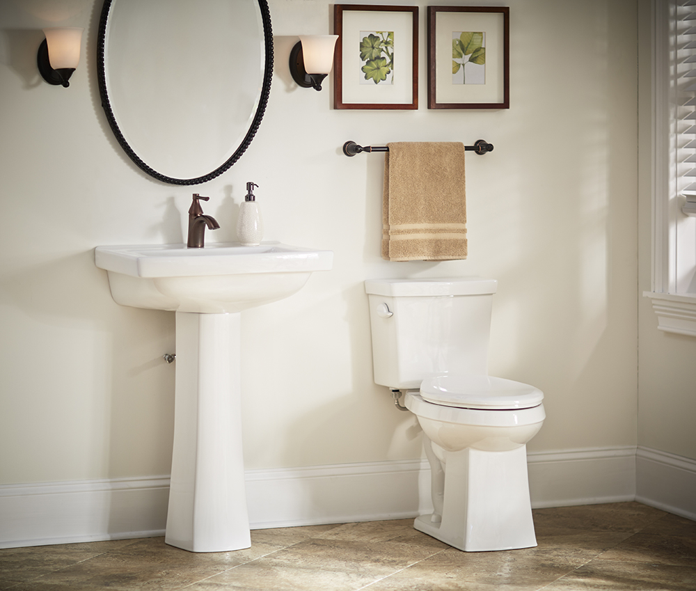 Burr Ridge Single Hole Standard Pedestal Bathroom Sink